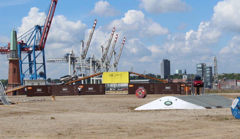 Testfeld zu Land am Cruise-Center Steinwerder - Off-Road Außenfläche